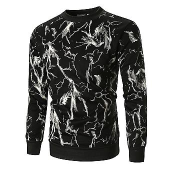 Cloudstyle Men's Sweatshirt Printing Thickened Pullover