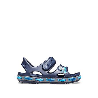 Crocs Boys & apos; Crocs Fun Lab Shark Band Sandals
