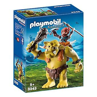 Playset Knights Trol Playmobil 9343 (8 pcs)
