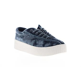 Tretorn Nylite 4 Bold Womens Gray Canvas Low Top Lifestyle Sneakers Shoes