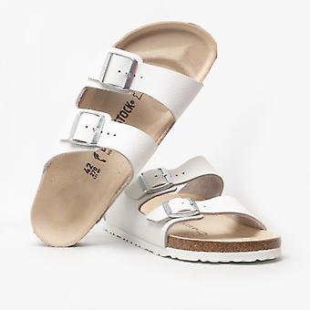 Birkenstock Arizona 51133 (nar) Ladies Leather Two Strap Sandals White