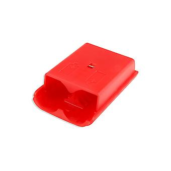 for Xbox 360 Wireless Controller Red Battery Back Cover Pack Shell