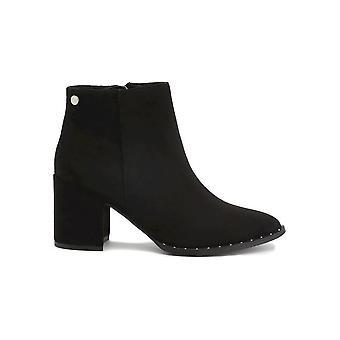Xti - Shoes - Ankle boots - 30958-SUEDE_BLACK - Ladies - Schwartz - EU 36