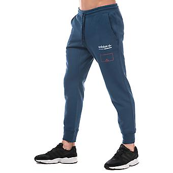 Men's adidas Originals Kaval Sweat Pants in Blue