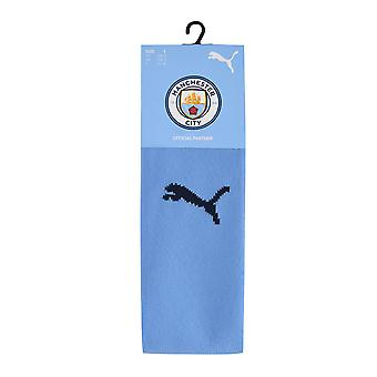 Puma Kids Manchester City Home Calcetines 2020 2021 Sports Seamless Construction