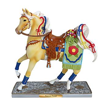 Trail Of Painted Ponies Pony On Parade Figurine