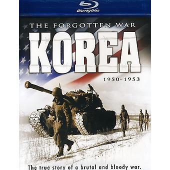 Korea: The Forgotten War 1950-53 [BLU-RAY] USA import