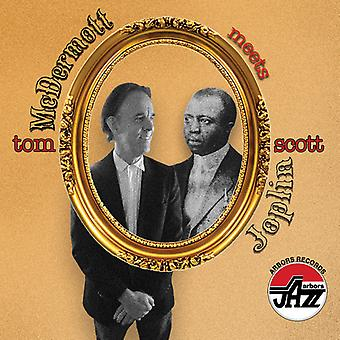 Tom Mcdermott Meets Scott Joplin [CD] USA import