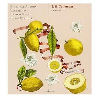 J.H. Schmelzer - J.H. Schmelzer: Sonatas [CD] USA import