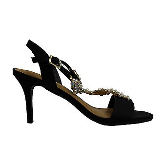 J. Renee Womens Michalla Open Toe Casual T-Strap Sandals