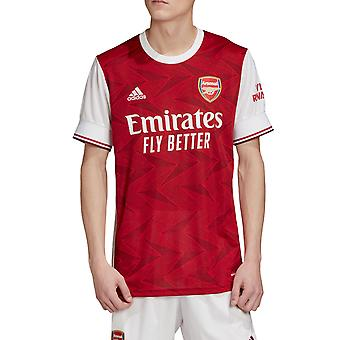adidas Arsenal 2020/21 Mens Short Sleeve Home Football Jersey Maglia Rosso