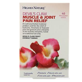 Higher Nature Devil's Claw Tablets 40 (HEDM040T)