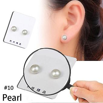 Magnetic Health Jewelry Slimming Earrings -Slimming Patch Magnets Of Lazy Paste