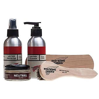 Red Wing Smooth Leather Gift Pack Unisex Shoe Care in Clear