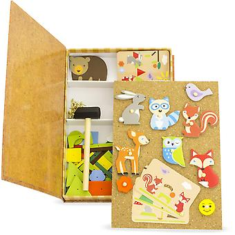 Ulysse Forest Pin Cork Toy