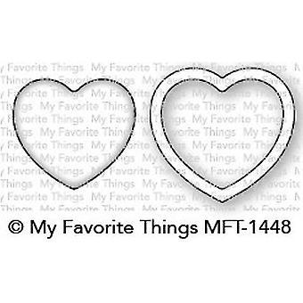 Le mie cose preferite Mini Heart Shaker Finestra & Telaio Die-Namics