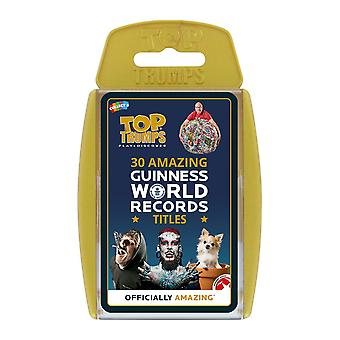 Guinness World Records Top Trumps Card Game