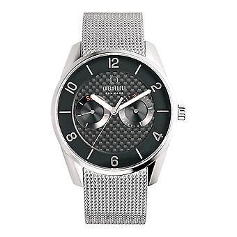 Relógio masculino Obaku Flint V171GMCBMC