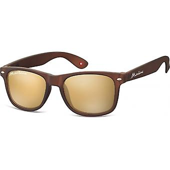 Sunglasses Unisex by SGB brown (MS1-XL)