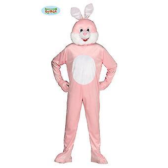 Bunny kanin drakt drakt for voksen maskot kostyme dyr kjeledress, størrelse: L