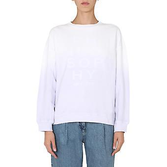 Filosofia Por Lorenzo Serafini 170171471276 Mulheres'S Lilac Cotton Sweatshirt