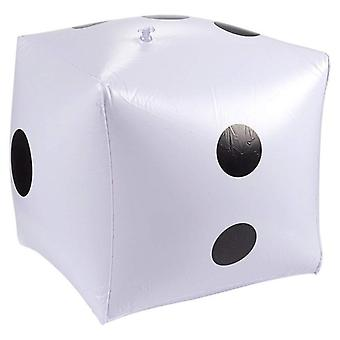 Funny Outdoor Large Inflatable Dice 30*30cm Décorations piscine pour le jeu