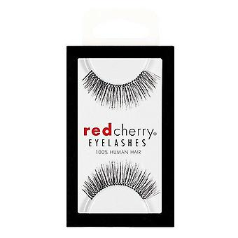 Red Cherry False Eyelashes - #205 Therese - Perfect Curl Handmade Lashes