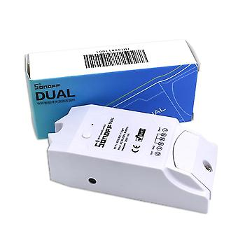 Dual Wireless Wifi Timing Smart Relay For Home Automation Remote Controller