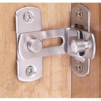 الفولاذ المقاوم للصدأ 90 درجة انزلاق باب هاسب قفل مزلاج -أدوات الأمن