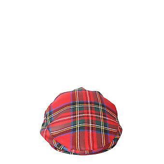 Comme Des Garçons Shirt W286512 Men's Red Wool Hat