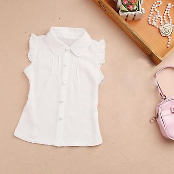 Girls Summer Top Sleeveless Blouses