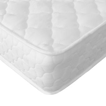 Monhouse coil sprung single, double or king size bed mattress memory foam