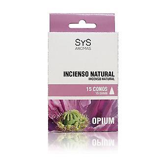Opium Incense Cones 15 units