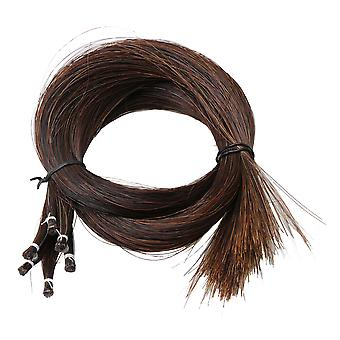 50 Grams 83cm Long Brown Horse Hair for Violin Bow Replacement