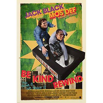 Be Kind Rewind Movie Poster Print (27 x 40)