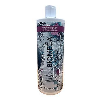 Aquage Biomega Silkki shampoo sulfaatti vapaa 32 OZ