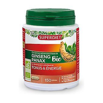 Organic Ginseng 150 softgels