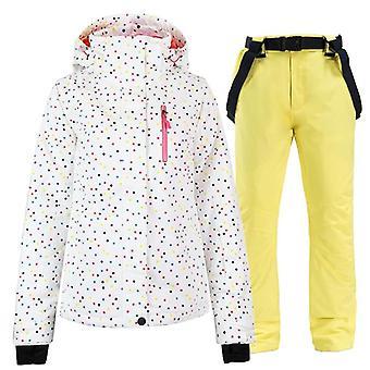 Windproof, Waterproof, Snowboarding Jacket Winter Female Skiing Suits Neige