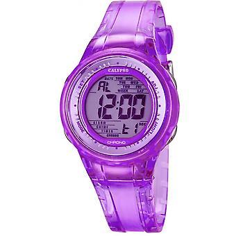 Montre Calypso K5688-3 - Montre Chronographe Violette Fille