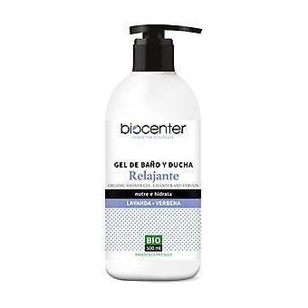 Relaxing Bath and Shower Gel Lavender Verbena Bio 500 ml
