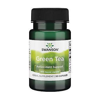 Premium Vihreä Tee 500 mg Ei mitään
