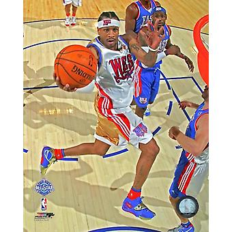 Allen Iverson 2008 NBA All-Star Game Action Photo Print