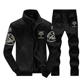 Men's Tracksuit Sportswear Sets Spring Autumn Casual Tracksuits