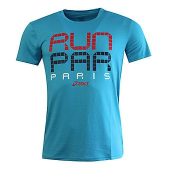 Asics Sports Essential Paris Short Sleeved Mens Tee Top T-Shirt 123089 8046 DD48