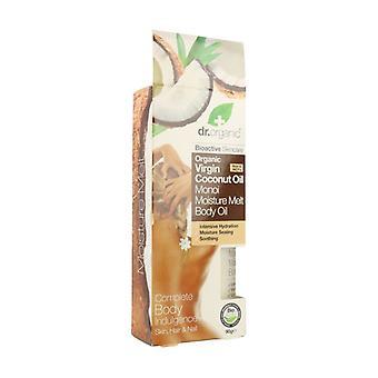 Monoi Body Oil and Organic Virgin Coconut Oil 90 g of oil