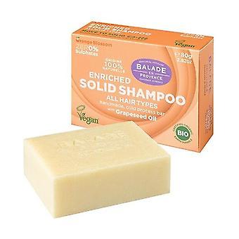 Kiinteä rikastettu shampoo kuiville hiuksille 80 g