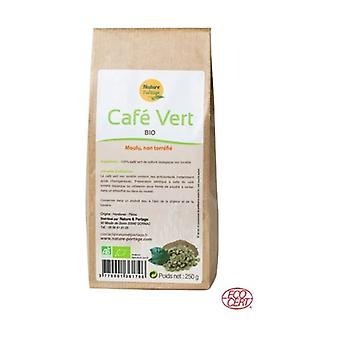 Green coffee powder Organic certified Ecocert - 250 g 1 g of powder