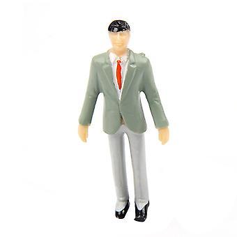 5pcs 1��30  Dollhouse Miniature Little man Model Bedroom Accessories Decoration