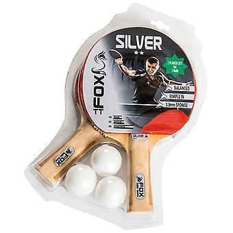 Fox TT Silver 2 Star Table Tennis Set