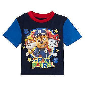 Paw Patrol Pojat Lyhyt Pyjama Setti